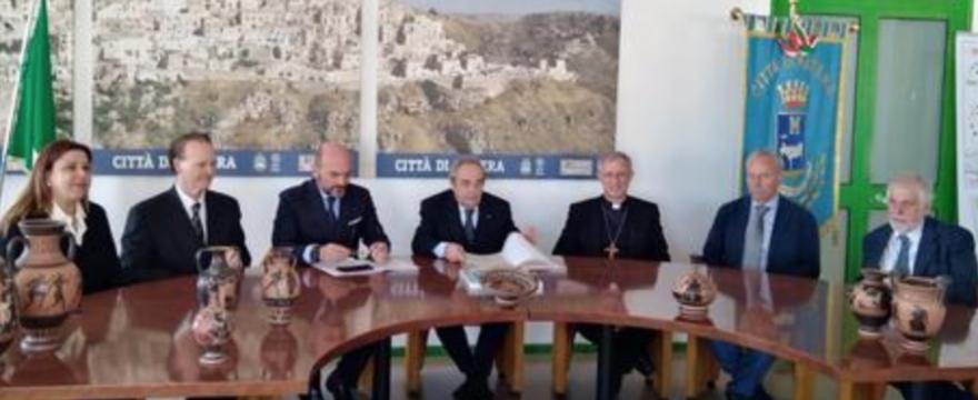 Matera 2019: gemellaggio con Crotone nel segno di Pitagora